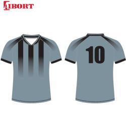 Aibort Fußballjerseys-kundenspezifische Fußballjerseys-Fußball-Uniform für Fußball-Team-Verein-Schule (Fußball 132)