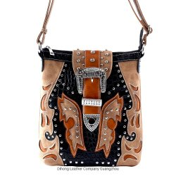 L'ouest de la conception florale Crossbody sacs