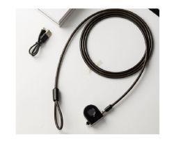 Fingerabdruck-Laptop-Verschluss der Qualitäts-Yh1570, Computer-Sicherheits-Verschluss, Kabel-Verschluss