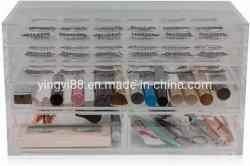 Acrílico transparente personalizada Organizador Eyelash Plástico