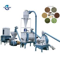 1,5-2 tonnes/h ferme l'utilisation des animaux bovins Volaille Poulet machine à granulés d'alimentation Prix de vente