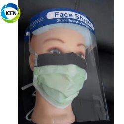 Limpar o visor Salpicos de raios UV Protetor de rosto