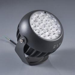 アルミニウムケースの丸型48W屋外LEDライト