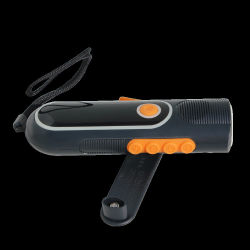 LED 장거리 FM 라디오 토치 재충전용 LED 가벼운 토치