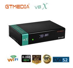 WiFi Gtmedia H. 265 1080P Gt Mediaの新しいModel Gtmedia V8X DVB-S2衛星TV Receiver Built