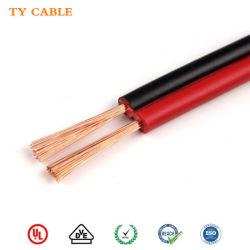Пвх изолированных медных провода красного цвета Черный Электрический удлинитель