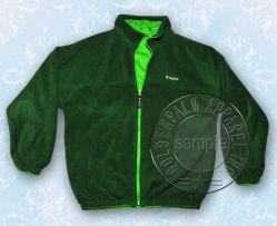 Zipper pieno Reversible Style Sportwear per Men