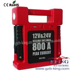Хорошее качество 88.824000mAh (белый) 300A-800A автомобильного аккумулятора стартера от внешнего источника