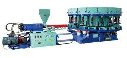 PVC rotatif/TPR Shoe Semelle de décisions de la machine de moulage par injection