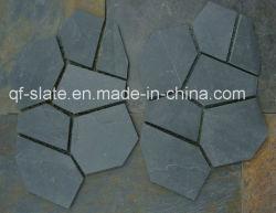 Высокое качество черный камень на сетку на пол и стены