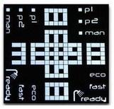 Entspannender Bildschirm Spiel-Einheittn-LCD