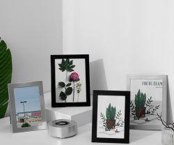 جدول إطار الصور المعدني البسيط والمعدن المثبت على الحائط مقاس 6 بوصات إطار صور فاخر خفيف مقاس 7 بوصات 10