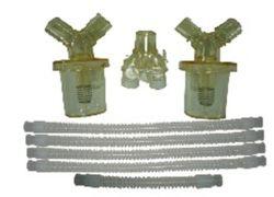 Siliconen slang/slang voor ventilatieapparaat in het Chinese ziekenhuis-beademingscircuit