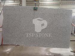 大きい平板が付いている水晶灰色の花こう岩の平板