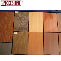 PE ПВДФ покрытие акт/ деревянной цветной алюминиевых композитных панелей для украшения для установки внутри помещений