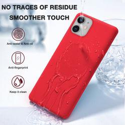 Casos de Silicone TPU suaves cores doces sólido Contracapa capa para telemóvel móvel de Silicone sólido de fábrica