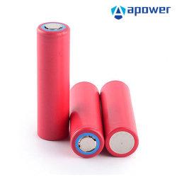 Batteria di litio autentica per la batteria di litio solare dell'ncr 18650ga 3.7V 3500 mAh 12V di memoria