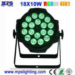 Farbenreiches DMX LED NENNWERT Innenlicht 18X10W RGBW 4 in 1 LED-Wäsche-Licht