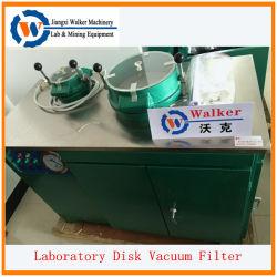 Лаборатория вакуумного диска фильтр для керамики промышленности