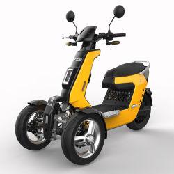 大人のためのV28 72V 2000W 3000W力の逆3の車輪の電気オートバイ