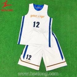 Healong Top Venta Ropa deportiva sublimación completo estilo Nueva camiseta de baloncesto