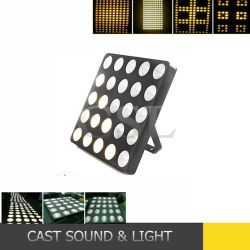 Etapa de la mazorca de la luz de efecto de Matriz de LED de 25x30W
