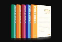 Tampa programável do diário do notebook a impressão de livros de exercício