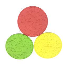 Grau alimentício lugar Mat capa de silicone Tabela Mat Tapete de protecção