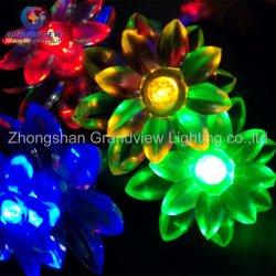 Многоцветные Lotus 10m 100 светодиодов волшебная строка фонари для проведения свадеб Рождество RoHS Xmas стороной с маркировкой CE TUV SGS