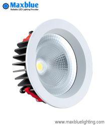 15W 95mm weiße runde PFEILER LED Downlight Installationssätze