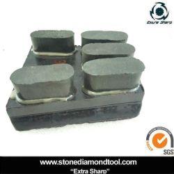 Resin-Bond Frankfurt bloque de mármol de granito pulido