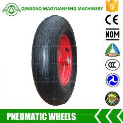 Carretilla ruedas neumáticas de 16 pulgadas con llantas de metal o plástico