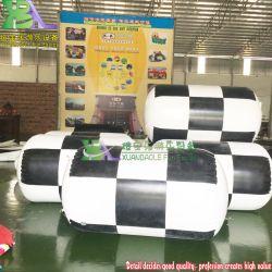 La publicidad de celosía personalizado de flotación de la piscina de agua Globos de boya cilindro inflable boya