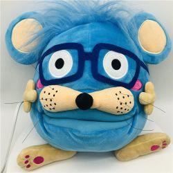 2021 Lovely Animal Character Blauw en Roze pluche hand Puppets Voor volwassenen