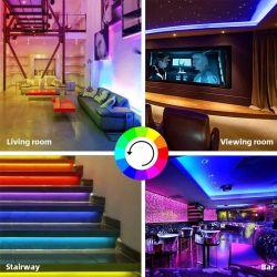 LED-heller Stab 5050 heller Stab 10m LED RGB-LED hellen Stab mit Fernsteuerungs44 Schlüsseln, flexiblen LED-hellen Stab für Küche, Schlafzimmer, Haus, Stab, DIY Farbe-Ändernd