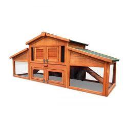كل شيء في واحد الدجاج Coop Hen House Nest الدجاج الكاجري مع قفل صينية صينية صينية صينية صينية صينية صينية مقاومة للماء