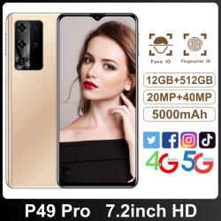Face à l'ID des smart phones 48MP caméra 6000mAh Batterie Android téléphone cellulaire Poco M3 128 Go Mobile