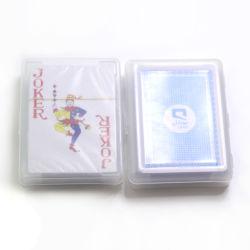 OEM 제조자 주문 카지노 종이 또는 플라스틱 부지깽이 트럼프패 또는 게임 카드