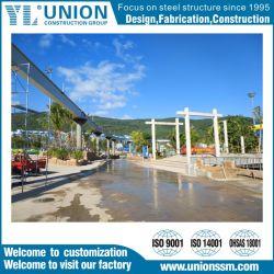 Rampa, Via projeto de estrutura de aço de construção de material projeto com a ISO, a norma CE