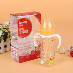 L'impression de biberon d'emballage plastique PVC Emballage des produits de soins de santé de gros