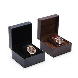 カスタマイズロゴラグジュアリーウォッチボックスケースパッケージングレザーウォッチギフト ボックス卸し売り腕時計箱
