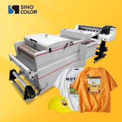 بيع ساخن 60 سم 2xi3200 Heads Pet Film DTF Heat Transfer آلة الطباعة على قماش القماش المصنوع من الأحذية ذات القلنسوة