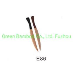 Recicle a faca de bambu e garfos