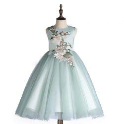 En 2021 le nouveau mode de robes de l'filles sentiment stéréo fleur robe robe de fête bébé vêtement d'usure d'enfants Les enfants de gros de vêtements pour garçons Vêtements