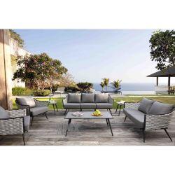 Hotel Home Varanda Outdoor Garden Pátio Bistro Furniture Sofá set