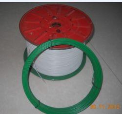 Recubierto de Polietileno de alambre galvanizado recubierto de PVC/PE/cable de hierro