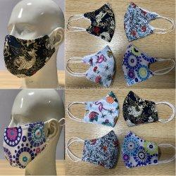 Ispirare la maschera di protezione riutilizzabile delle mascherine con i filtri - Doppio-Strato lavabile del progettista poli/mascherina del cotone con 4 filtri sostituibili dal carbonio inclusi e la mascherina registrabile