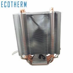 مروحة تبريد مخصصة لوحدة المعالجة المركزية بجهد 12 فولت وقدرة 120 مم مع 4 أنابيب Heatbipes لمدة منصة Am4