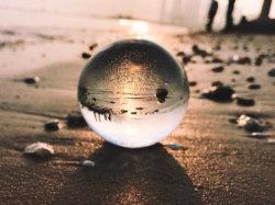 Feng Shui la bola de cristal de cuarzo de bola de cristal claro esferas Bola mágica