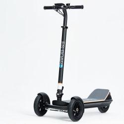 Dropshipping Hot Sale puissant pliable 3 roues motorisés Stand up Kick Scooter électrique